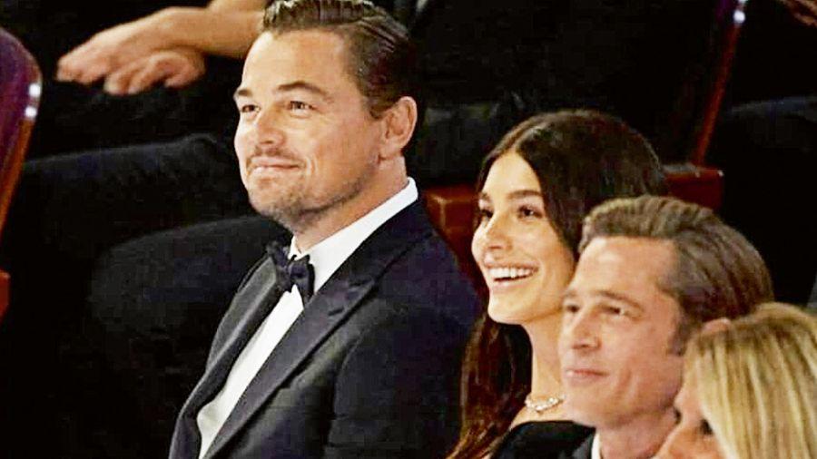 Morrone, Di Caprio, Brad Pitt