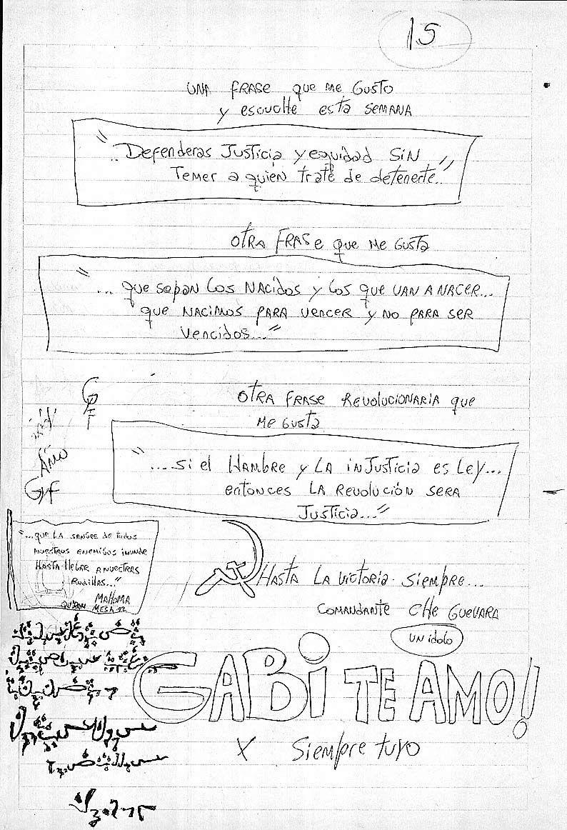 cartas de Fabián Tablado