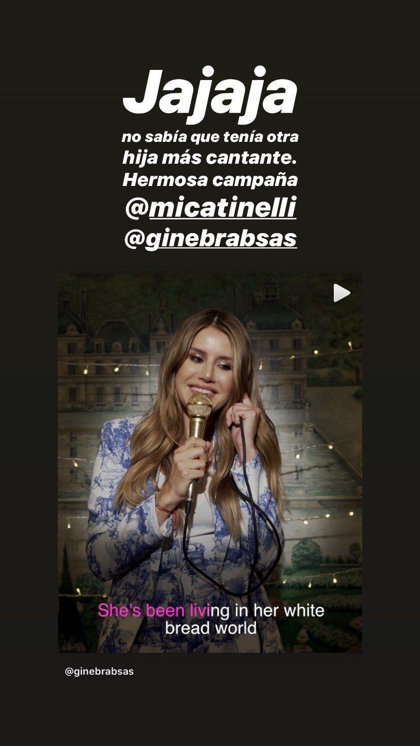 Marcelo Tinelli reaccionó al ver cantar a Mica