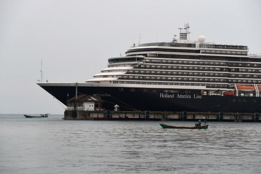 cuarentena crucero coronavirus afp