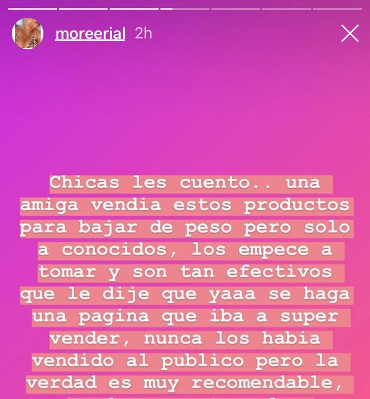 Morena Rial reveló su secreto para perder peso