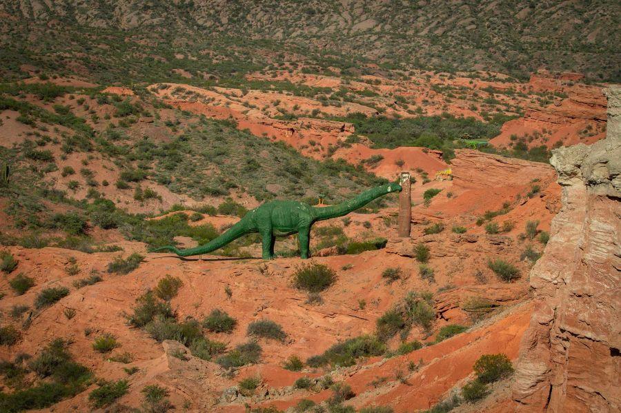 Parque de dinosauirios en La Rioja 19022020