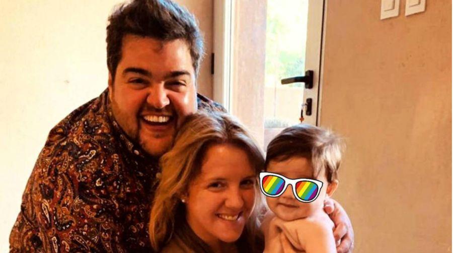 Dario Barassi y su familia