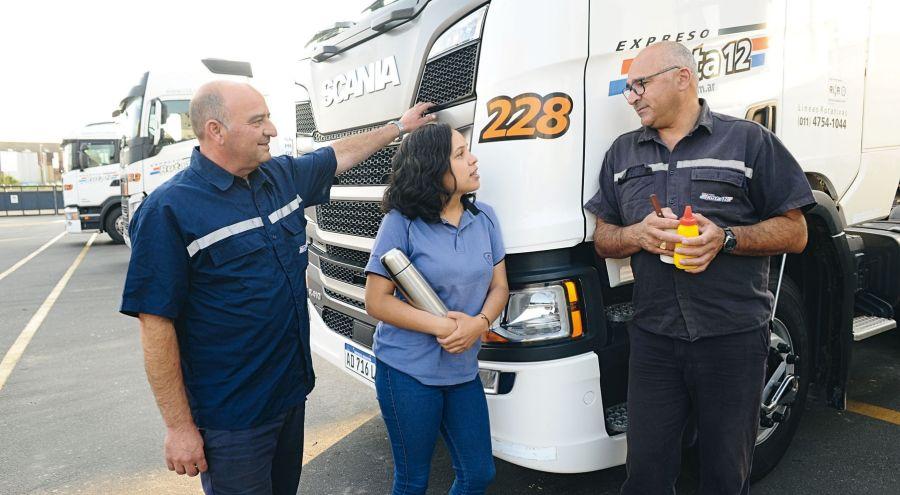 Camioneras: la historia del 1 por ciento