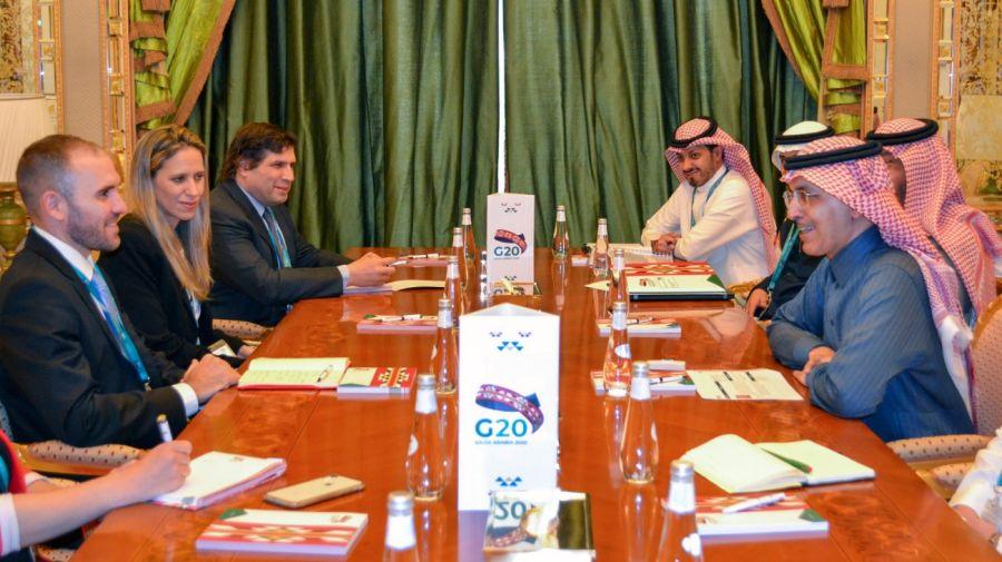 Martín Guzmán Arabia Saudita Mohammed Al-Jadaan G-20 g_20200222
