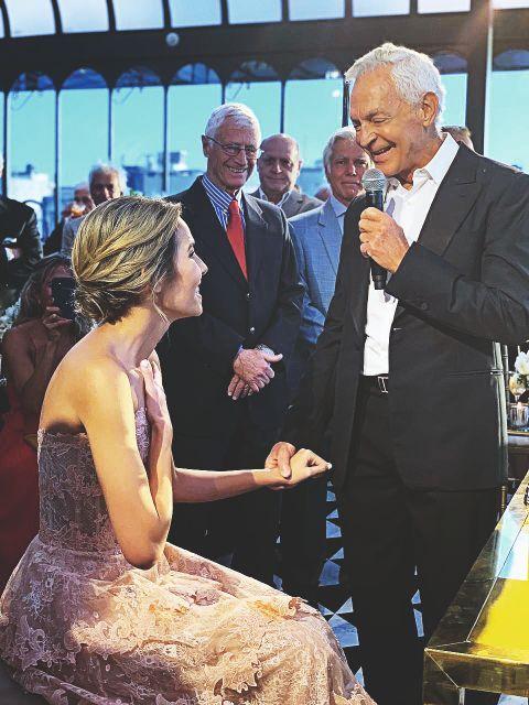 Eduardo Costantini y Elina Fernández: Todos los detalles de una boda secreta