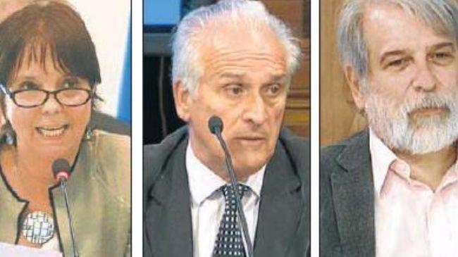 Responsables: Marcó del Pont (AFIP), Cruz (UIF) y Crous (OA).