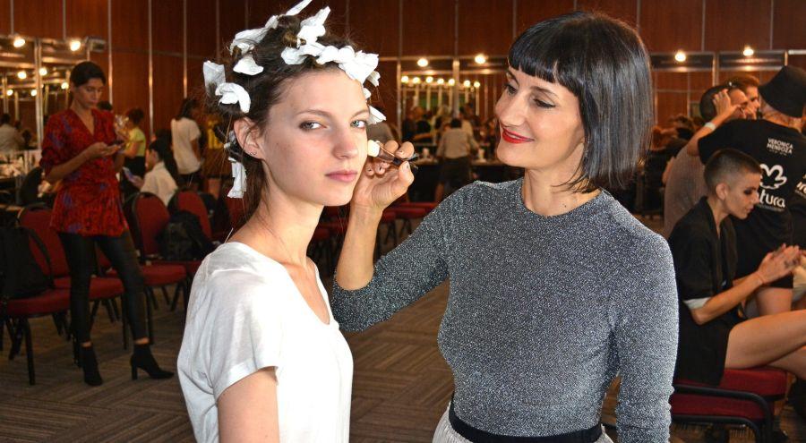 Verónica Mendoza, la maquilladora oficial de BAFWEEK