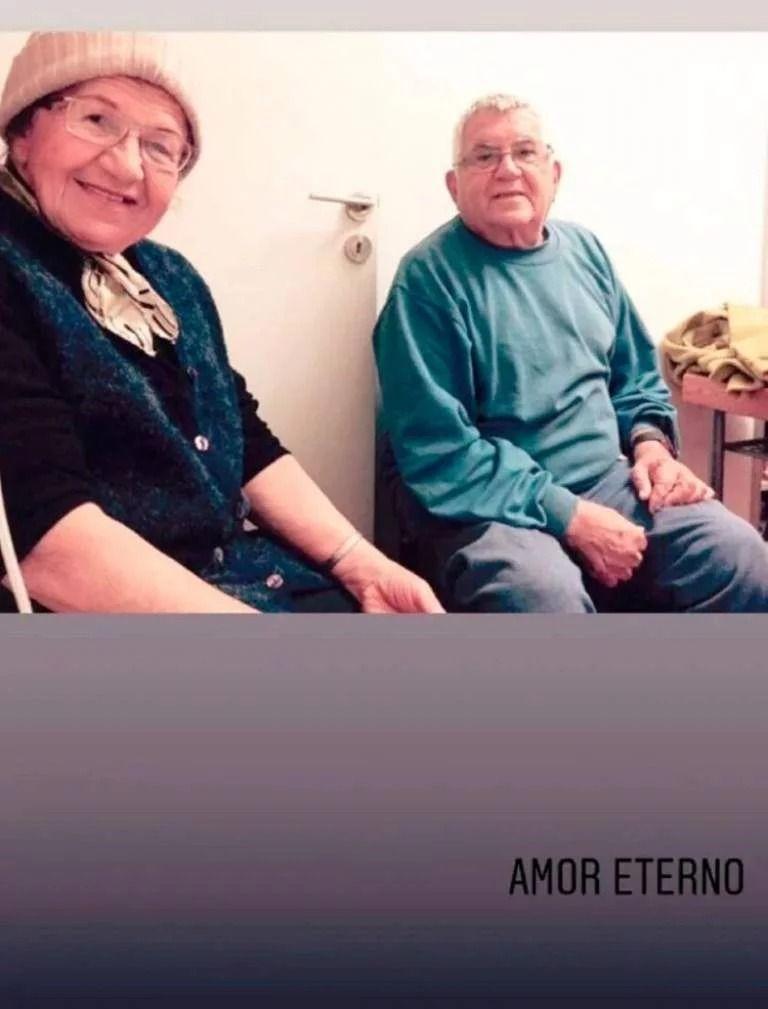 Antonela Roccuzzo recordó a su abuelo: