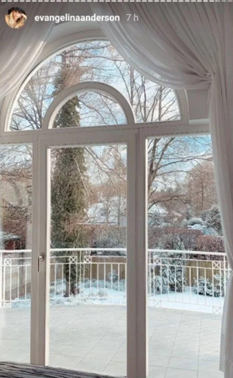 Eva Anderson mostró su lujosa casa en Alemania