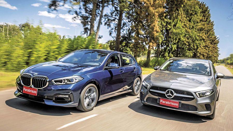 COMPARATIVO / BMW 118i SportLine - Mercedes-Benz A 200 Progressive