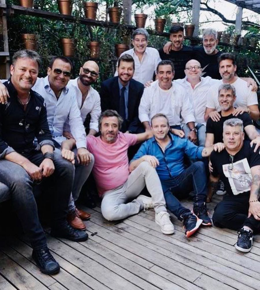 Revelan detalles de la reunión de Marcelo Tinelli con los históricos humoristas de ShowMatch