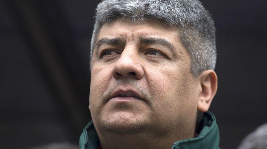 Pablo Moyano, secretario adjunto de Camioneros.