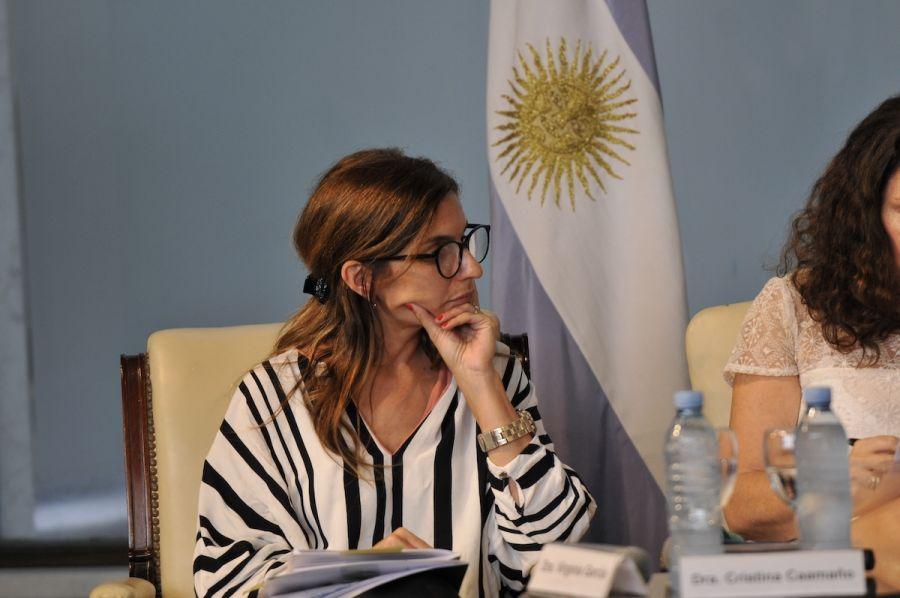 Virginia García.
