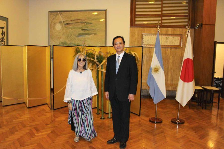 GALERÍA | Famosos se congregaron en la Embajada del Japón
