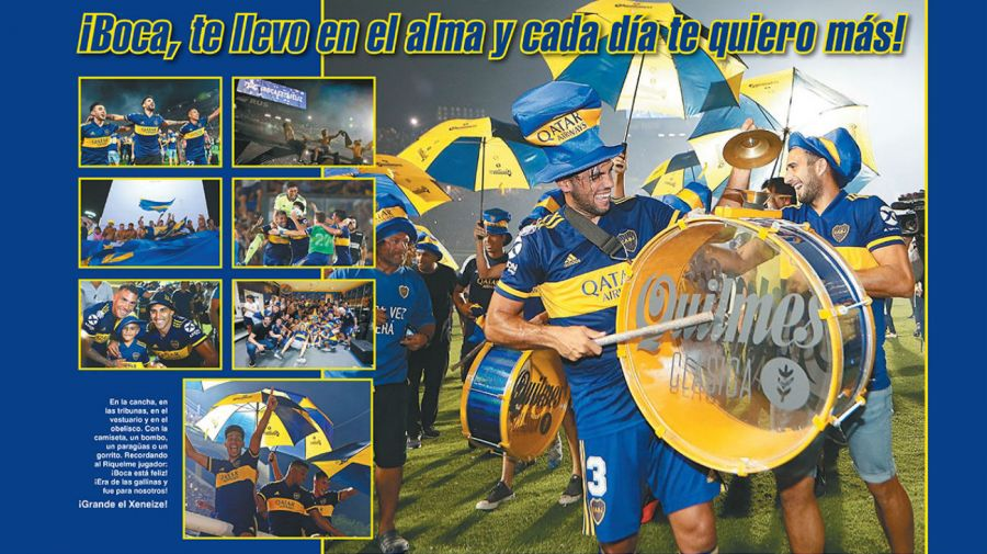 Reviposter Boca campeón