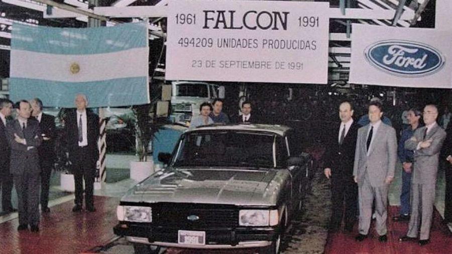 Historia del Ford Falcon - Dictadura Militar