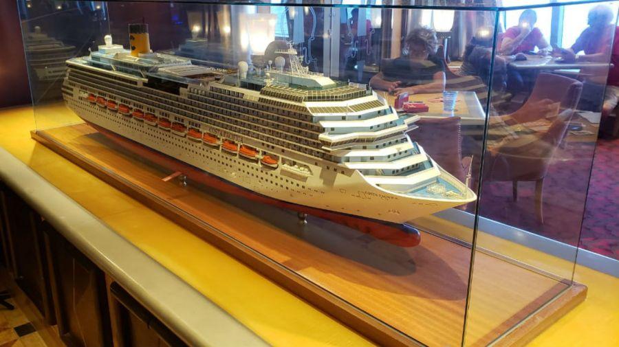 En el crucero de Costa Pacífica viajan 1600 argentinos y 600 europeos que regresan a sus hogares.