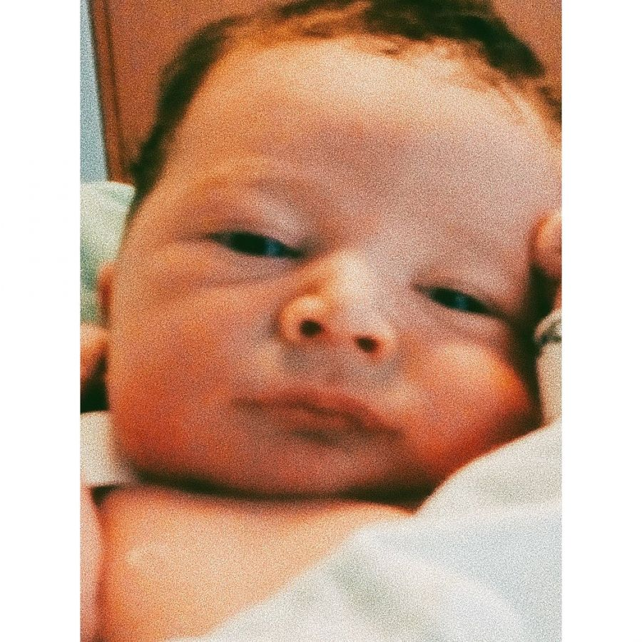 Eddie Fitte fue papá: mirá la primera foto de su bebé
