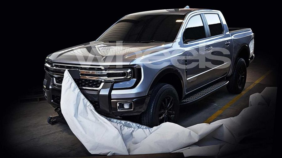 Así sería la nueva Ford RANGER