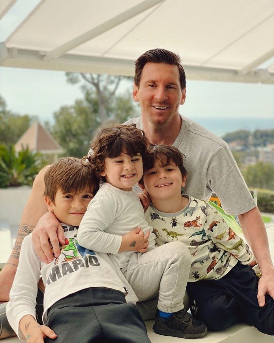 El emotivo post de Anto Roccuzzo a Leo Messi por el día del padre