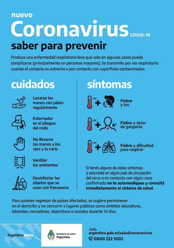 consejos coronavirus