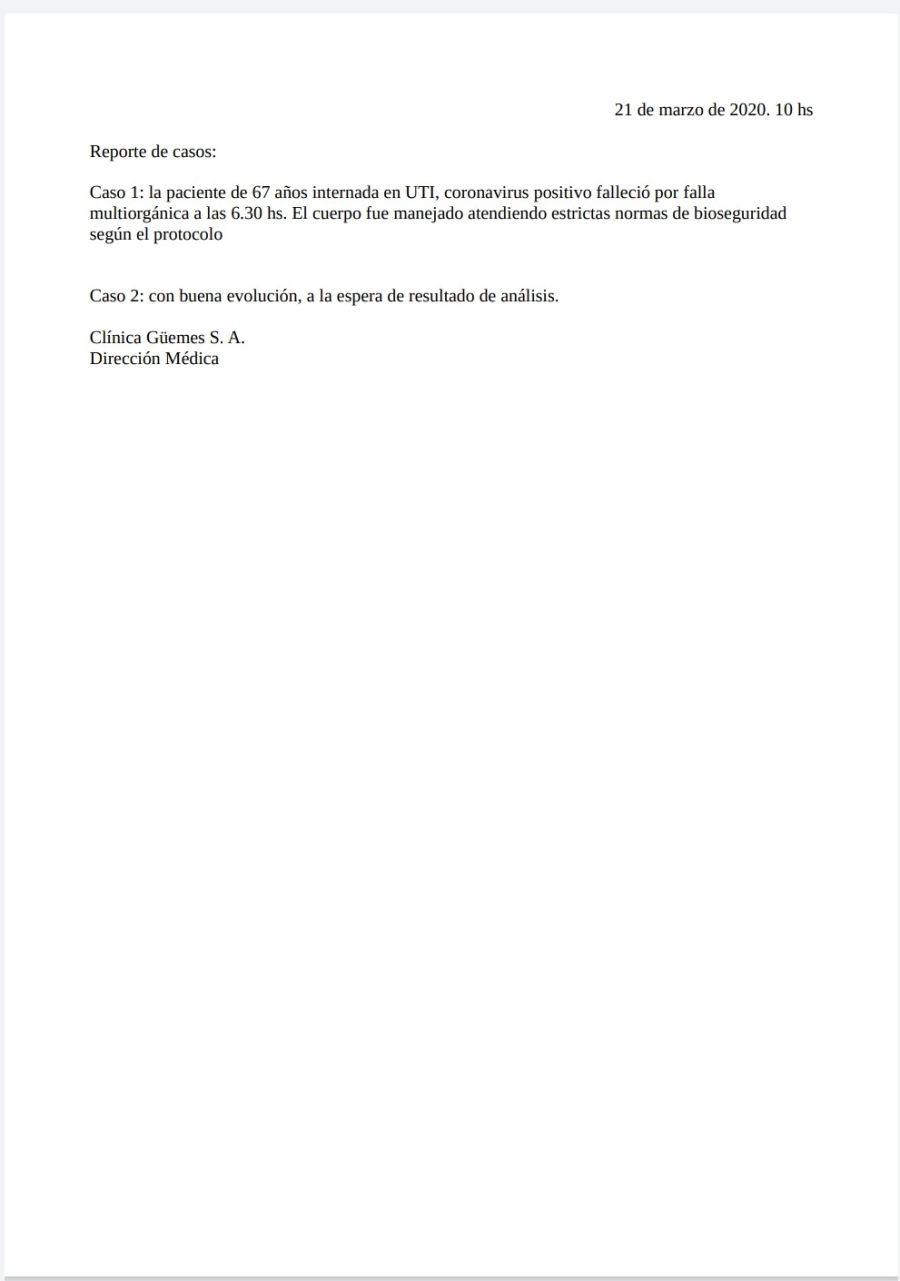parte medico 21032020