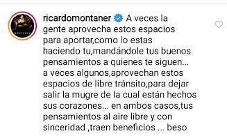 El tierno mensaje de Ricardo Montaner a Stefi Roitman, tras las críticas por no hacer aislamiento