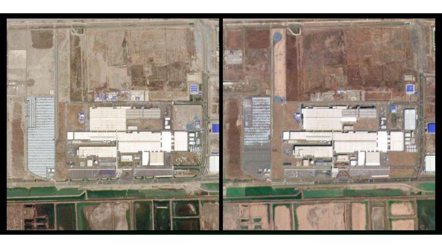 Comparación satelital efecto Coronavirus 20200325