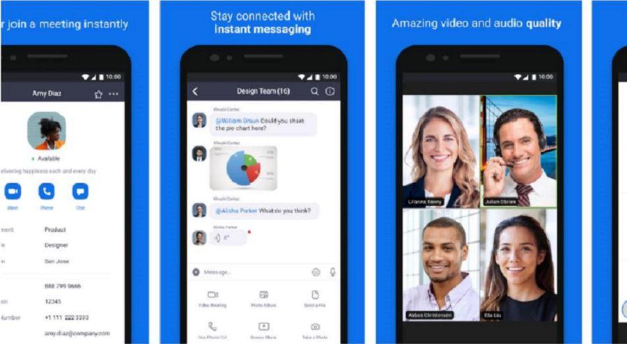 Zoom la app de video call popular