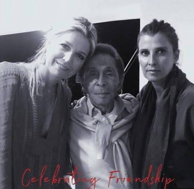 ¡Al natural! Valentino publicó una foto inédita de la Reina Máxima