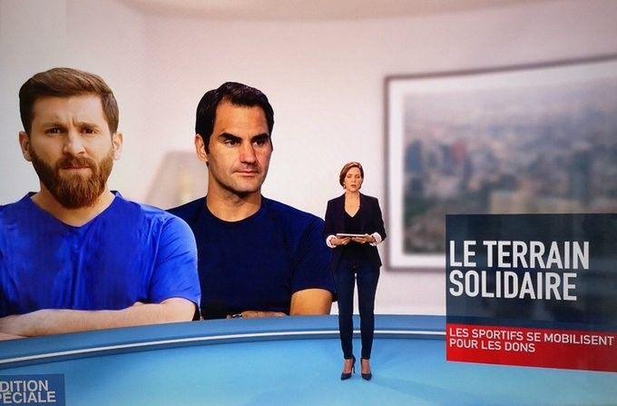 TV Francesa confunde a Messi