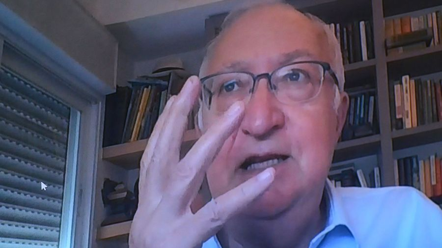 Manuel Trajtenberg, en la entrevista con Jorge Fontevecchia.