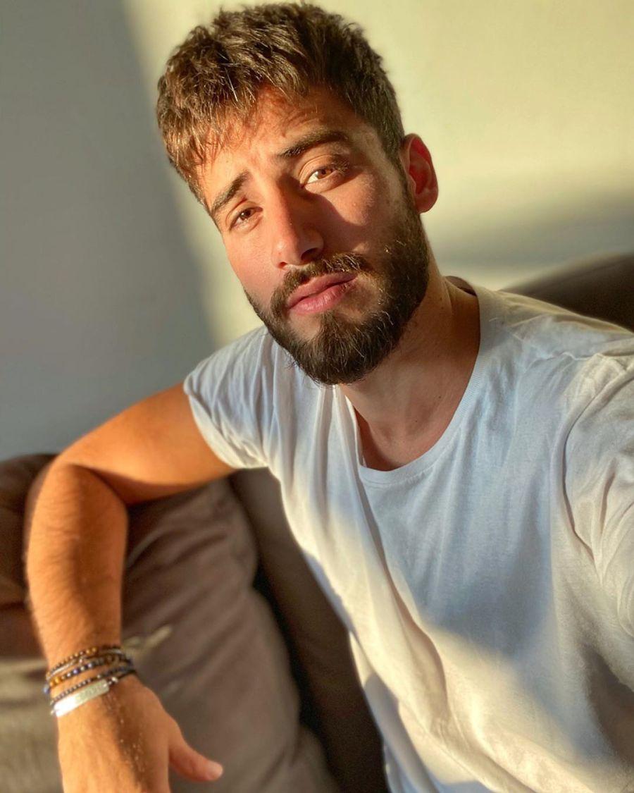 Nicolas Occhiato con nuevo look