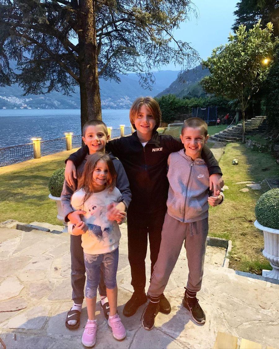 La increíble mansión de Wanda en el Lago Di Como