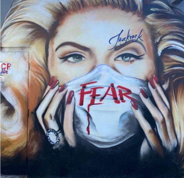 Arte urbano en tiempos de coronavirus