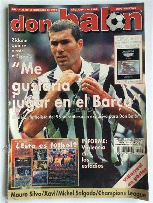 Tapa Don Balón, entrevista a Zidane