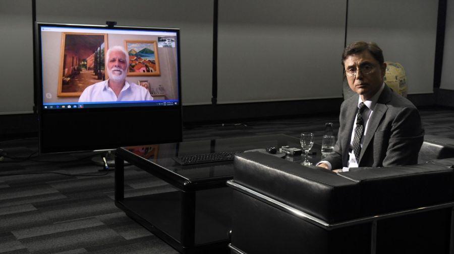 Jorge Fontevecchia entrevistó al epidemiólogo Roberto Chuit.