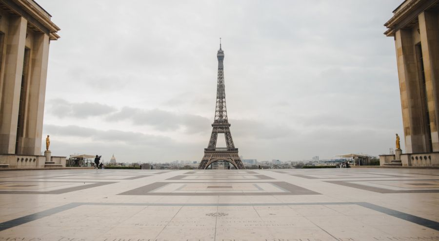 Cuarentena en París. Crédito: Javier Piña