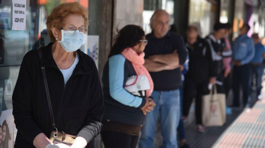 Jubilados en pandemia.