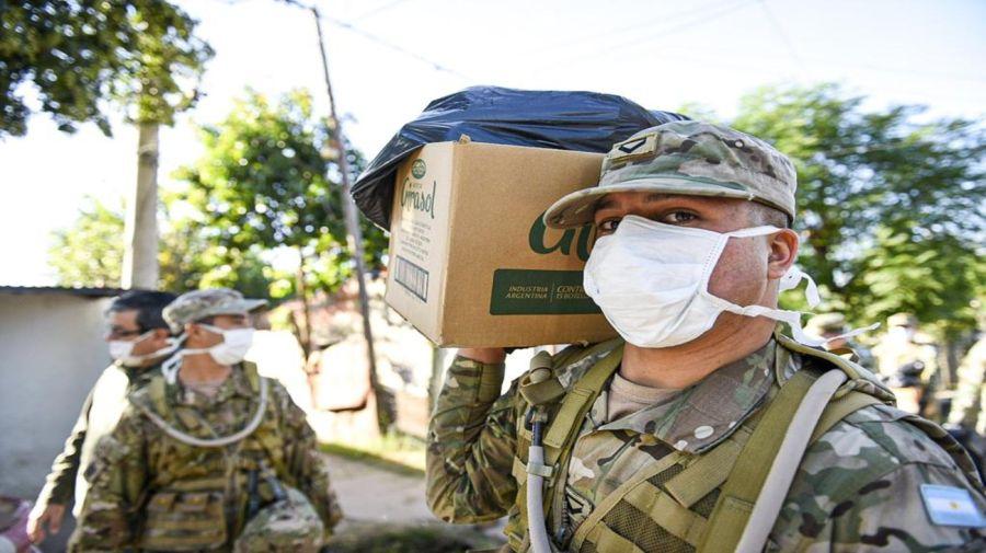 ejercito argentino coronavirus ministerio defensa 20200407