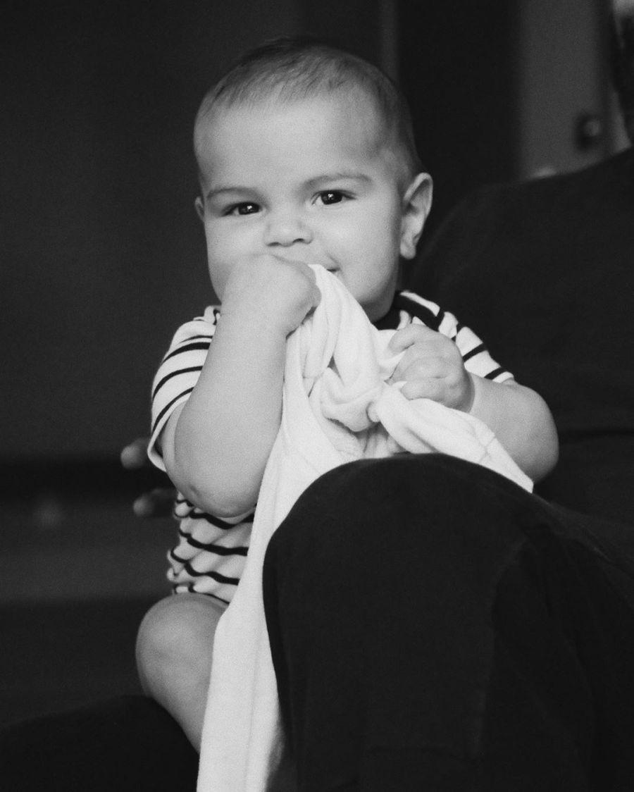 Ricky Martin mostró por primera vez la cara de su cuarto hijo