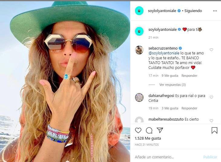 El irónico mensaje de la Niña Loly, tras las declaraciones de Cinthia Fernández