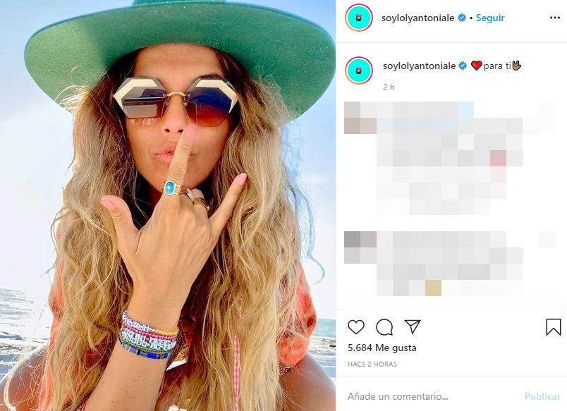 El provocador mensaje de Loly Antoniale tras las declaraciones de Cinthia Fernández
