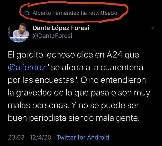 Twitter Dante Foresi