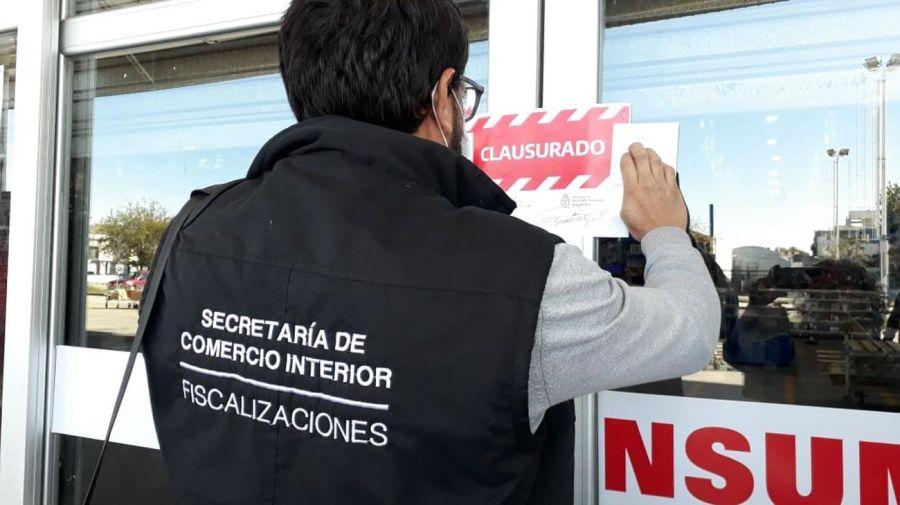 Clausura Maxiconsumo de Avellaneda 20200416