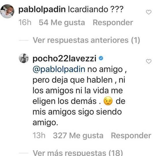 Contundente respuesta de Pocho Lavezzi cuando le preguntaron si