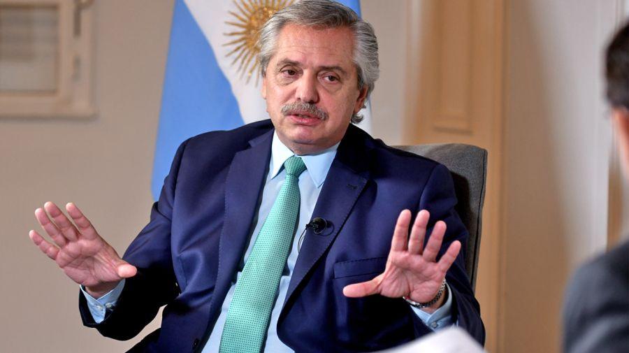 President Alberto Fernández perfil interview fontevecchia