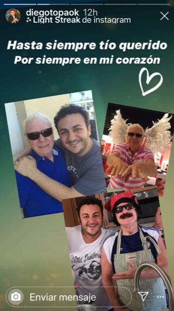 La muerte de un familiar golpea fuerte a Diego Topa a tres meses de ser padre
