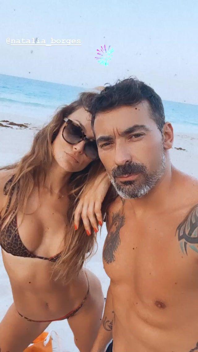 El Pocho Lavezzi oficializó su relación con Natalia Borges